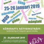 KÖRKRAFTS NÄTVERKSTRÄFF 25-26 JANUARI